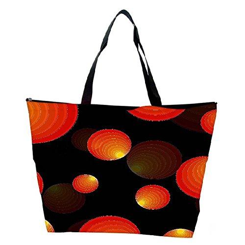 Snoogg Vector Background Designer Waterproof Bag Made Of High Strength Nylon