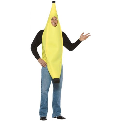 Banana Costume - One Size - Chest Size 42-48