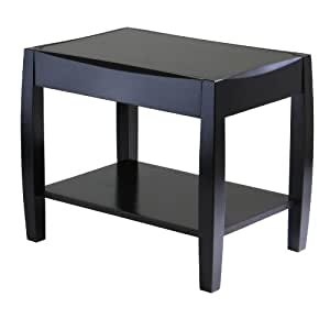 winsome wood cleo end table end tables