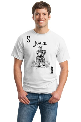 JOKER CARD Unisex T-shirt / Card Costume Tee, Magic Trick Tee