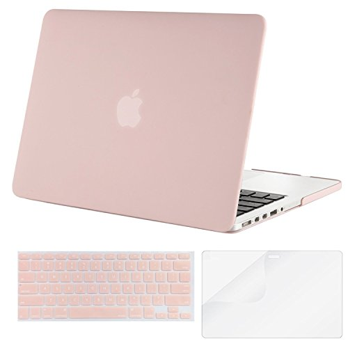 Find Discount Mosiso - 3 in 1 Macbook Retina 13 Inch Soft-Skin Plastic Hard Case Cover & Keyboar...