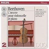 echange, troc  - Beethoven : L'Oeuvre pour violoncelle et piano (Coffret 2 CD)