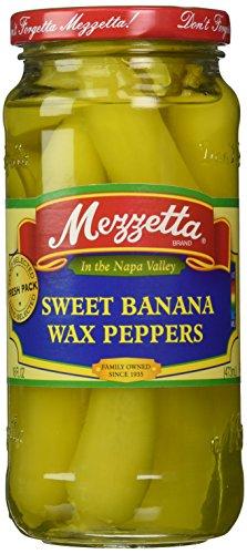MEZZETTA PEPPER SWT BANANA WAX, 16 OZ (Mezzetta Hot Banana Wax Peppers compare prices)