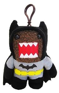 Domo Batman Clip On Plush, Black