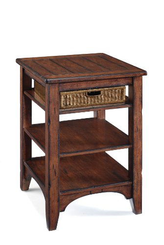 Image of Magnussen Maywood Wood Square Accent End Table (T1532-33)