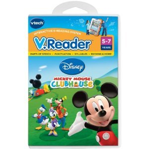 Toy / Game Vtech - V.Reader Software - Cool Mickey Mouse Clubhouse With Fully Animated Story (Ages 5+)