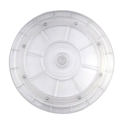 Case-Wonder-Home-Kche-Acryl-Schwere-Rotierende-Plattenteller-Drehgelenk-Drehteller-Stahl-Kugellager-Stehen-fr-Kche-Schrnke-Spice-RackCouchtischKuchen-DekorierenTV-Laptop-Computer-Monitor-StnderJewelry