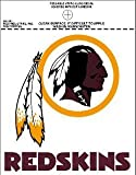 NFL Washington Redskins Small Static Decal