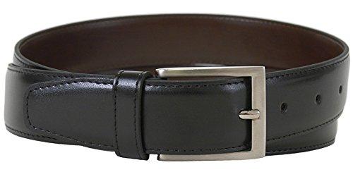 The Vegan Collection Men's Captain Black Non Leather Belt (34
