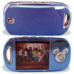 "Digital Blue Disney Mix Max - Digital player - flash 512 MB - WMA, MP3, protected WMA (DRM 9), protected WMA (DRM 10) - video playback - display: 2.2"" - blue chrome"