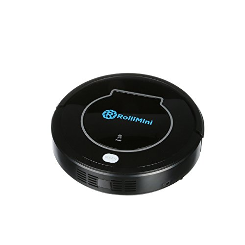 Rollibot Mini Robot Vacuum Cleaner - Sweeping, Mopping, Cleaning Vacuum Robot with Automatic Recharging and Auto-Detection (Vacuum Cleaner Self Propelled compare prices)