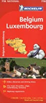Michelin Map Belgium Luxembourg (Michelin Map)