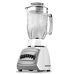 Black & Decker Cyclone 12-Speed Blender, White BLC12650H