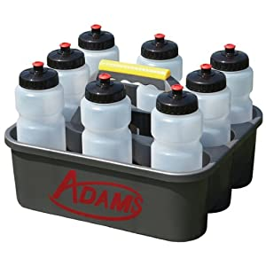 Adams Bottle Carrier with 8 Water Bottles by Adams USA