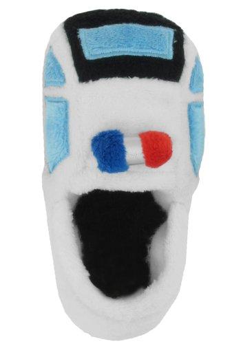 Capelli New York 3D Police Car Soft Boa Moccasin Toddler Boys Indoor Slipper