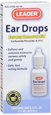 Leader Ear Wax Removal Drop 0.5oz - Compare to Debrox by Apothecary Products, Inc.