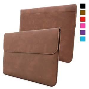 Snugg Surface 1 & 2 Tasche (Braun) - Leder Hülle mit lebenslanger Garantie für Microsoft Surface 1 & 2 RT & Pro