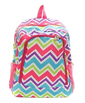 Canvas Chevron Backpack Hp