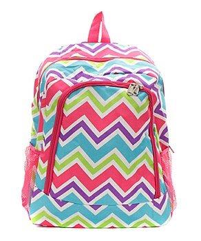 Canvas Chevron Backpack Hp