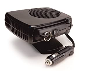 Low Price RoadPro 12-Volt Heater/Fan with Swing-Out Handle