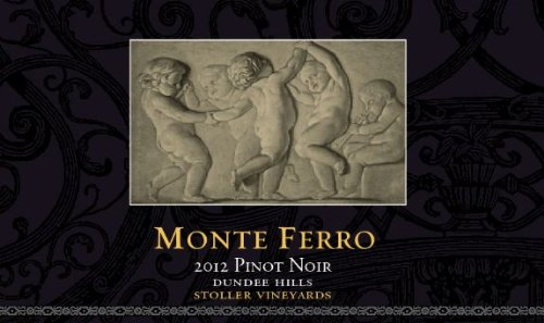 2012 Monte Ferro Pinot Noir Stoller Vineyard 750 Ml
