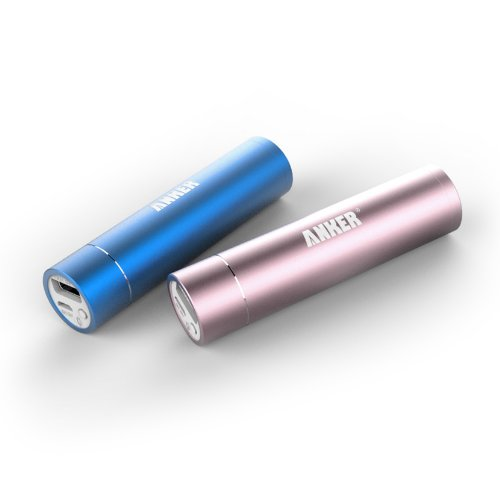 Anker Astro Mini 3000mAh 超小型・スティックタイプ モバイルバッテリー 3000mAh?5V/1A iPhone5S、5C、5、4S/iPad Air/iPad Mini Retina/iPad Mini/iPad/iPod/Galaxy/Xperia/ASUS/Android/各種スマホ Wi-Fiルータ等対応(日本語説明書付き)
