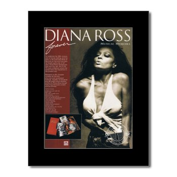 Diana Ross - Forever Matted Mini Poster - 28.5X21Cm