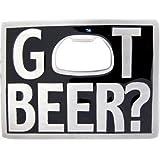 Got Beer Bottle Opener Belt Buckle