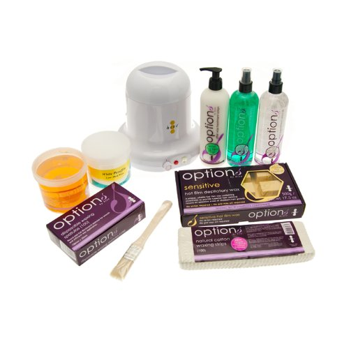 Options by Hive Student Wax Kit complete with Waxes and Heater NEW 2012 Model