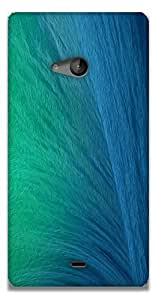 The Racoon Grip printed designer hard back mobile phone case cover for Microsoft Lumia 540. (Ocean Spra)