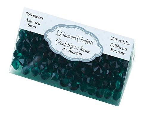 Lillian Rose Diamond Confetti, Teal