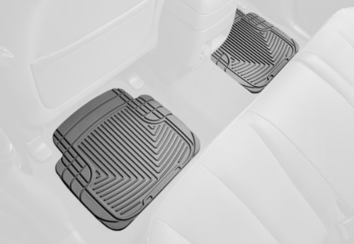 WeatherTech All-Weather Trim to Fit Rear Rubber Mats for Select Models (Grey) (Weathertech Floor Mats Volvo S40 compare prices)