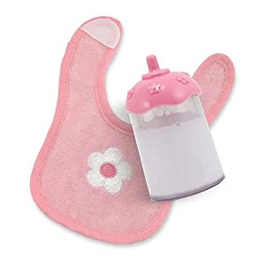 Milk Bottle and Bib Set