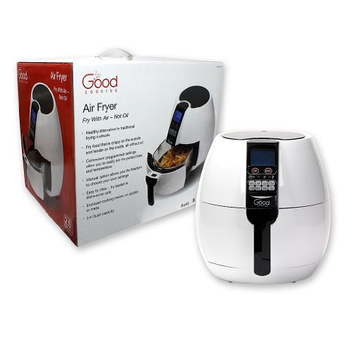Air Fryer with Digital Programmable Settings By Good Cooking- Fry with Air, Not Oil