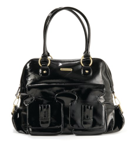 timi leslie marilyn ii diaper bag black designer nappy bags. Black Bedroom Furniture Sets. Home Design Ideas