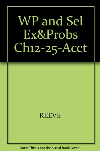 WP and Sel Ex&Probs Ch12-25-Acct