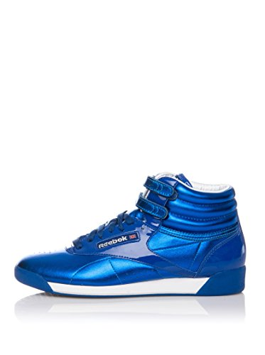 reebok-zapatillas-abotinadas-freestyle-hi-int-azul-electrico-eu-42-us-105
