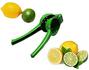 Chef's Star New Metal Lemon Lime Squeezer Hand Juicer with Enamel Color Coating by Chefs Star�