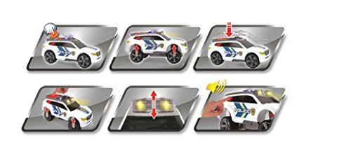 Dickie Toys Light and Sound Police Car Vehicle