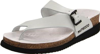 Mephisto Women's Helen Thong Sandal,Off White,9 M US