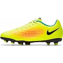 Nike Magista OLA II FG Football,Size 10 (Volt/Black/Orange)