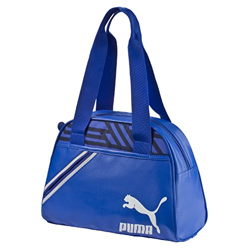 Puma Archive Handbag, Borsa a mano, Blu/ Bianco (Dazzling Blue/White/Graphic)