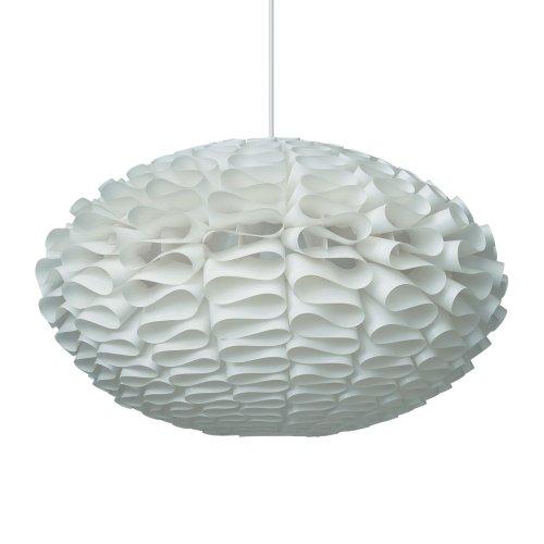 Lámpara de techo ondulada