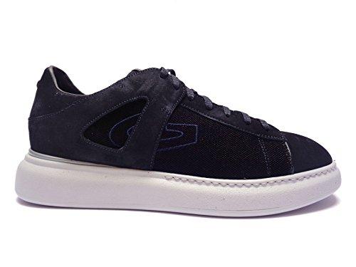 Alberto Guardiani -Guardiani Sport- scarpe casual da uomo in camoscio Blu, n. 41