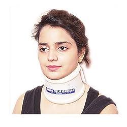 IndoSurgicals Cervical Collar Hard Adjustable (Medium)