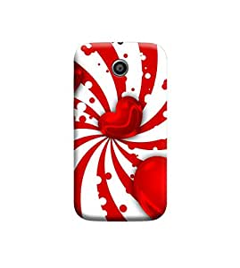 Ebby Premium Printed Back Case Cover With Full protection For Motorola Moto E (Designer Case)