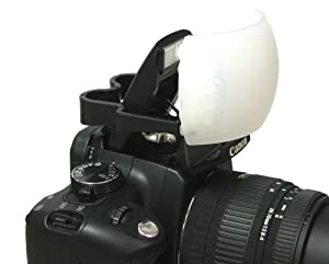Soft Pop-Up SLR Flash Diffuser for Canon EOS, Nikon, Olympus, & Pentax On-Camera Flashes