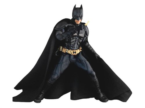 Movie Masterpiece - 1/6 Scale Fully Poseable Figure:   Dark Knight - Batman (New Costume)