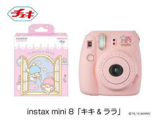 インスタントカメラ チェキ instax mini 8 キキ&ララ