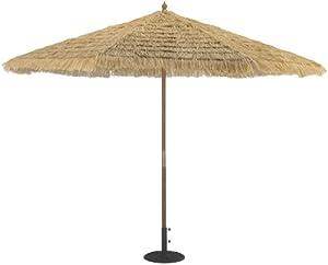 TropiShade 11-Foot Thatched Market Umbrella from Galtech